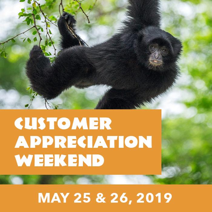 Customer Appreciation Weekend Tickets